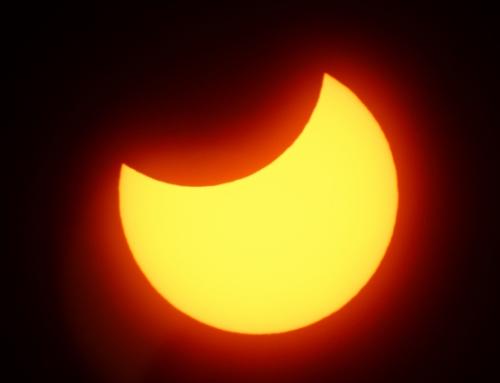 【日食を見よう!】